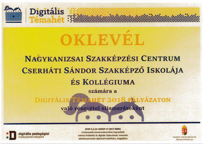 digitalis oklevel 2018 th